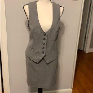Banana Republic Vest and Skirt